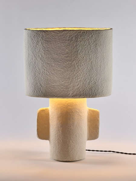 Earth lamp collection from serax with paper mache material