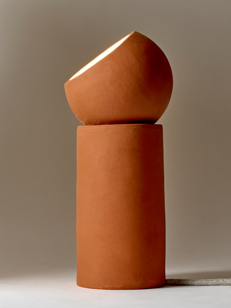 Lamp serax collection Terra made of terracota pottery